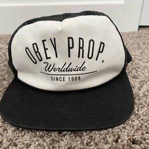 Obey Prop. Flat Bill Hat